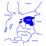 Company in Estonia map