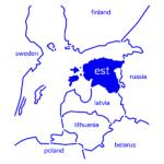 Company in Estonia map